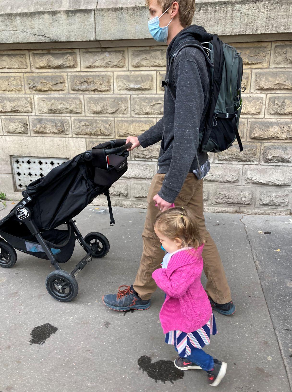 parisian pedestrians