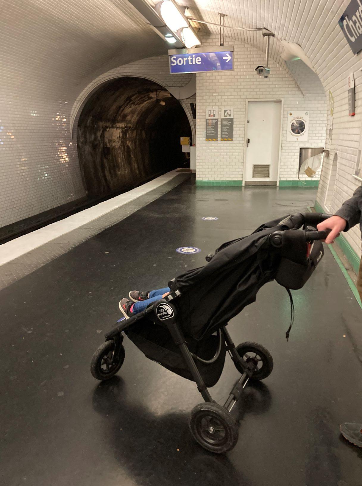 subway sortie